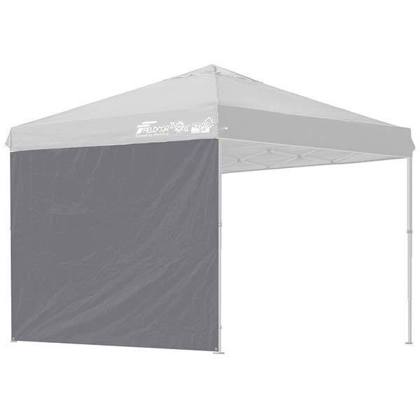 タープ テント タープテント用 サイドシート ウォールタイプ 横幕 2.5m 250 日よけ シェード オプション タープテント専用サイドシート FIELDOOR 送料無料|l-design|10