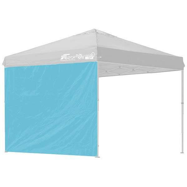 タープ テント タープテント用 サイドシート ウォールタイプ 横幕 2.5m 250 日よけ シェード オプション タープテント専用サイドシート FIELDOOR 送料無料|l-design|11