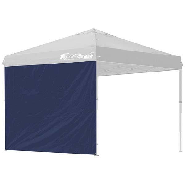 タープ テント タープテント用 サイドシート ウォールタイプ 横幕 2.5m 250 日よけ シェード オプション タープテント専用サイドシート FIELDOOR 送料無料|l-design|07