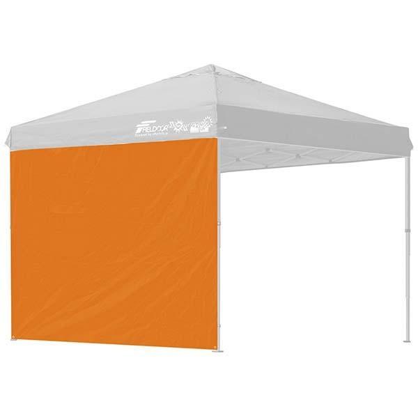 タープ テント タープテント用 サイドシート ウォールタイプ 横幕 2.5m 250 日よけ シェード オプション タープテント専用サイドシート FIELDOOR 送料無料|l-design|08