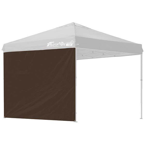 タープ テント タープテント用 サイドシート ウォールタイプ 横幕 2.5m 250 日よけ シェード オプション タープテント専用サイドシート FIELDOOR 送料無料|l-design|09