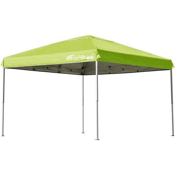 テント タープ タープテント 3m ワンタッチ 日よけ イベント アウトドア バーベキュー キャンプ 海 UVカット 防水 スチール おしゃれ 大型 FIELDOOR 送料無料|l-design|13
