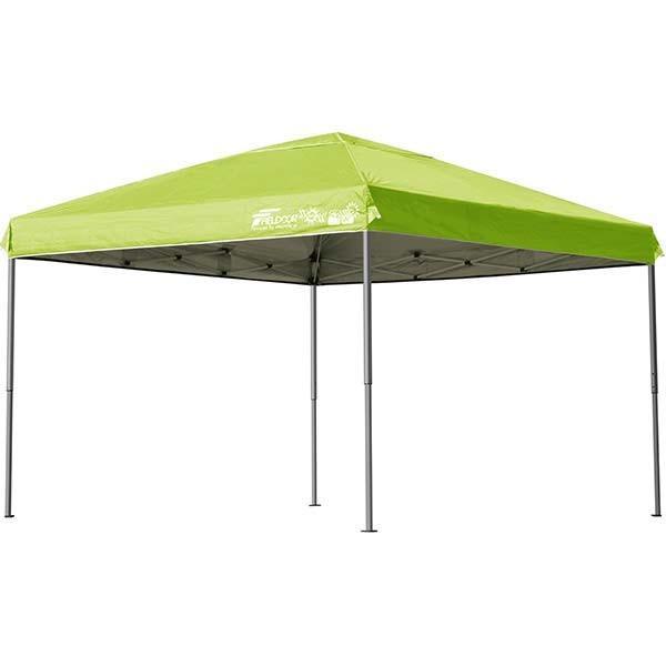 テント タープ タープテント 3m ワンタッチ ワンタッチテント ワンタッチタープ 軽量 アルミ 日よけ イベント アウトドア バーベキュー FIELDOOR 送料無料|l-design|13