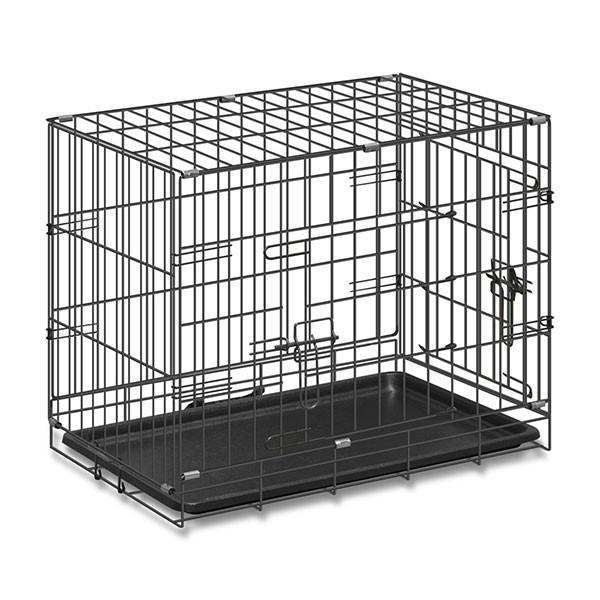 ペットケージ ペットゲージ ドッグケージ ドッグサークル 小型犬用 スチールケージ ペットサークル Mサイズ 送料無料 l-design 05