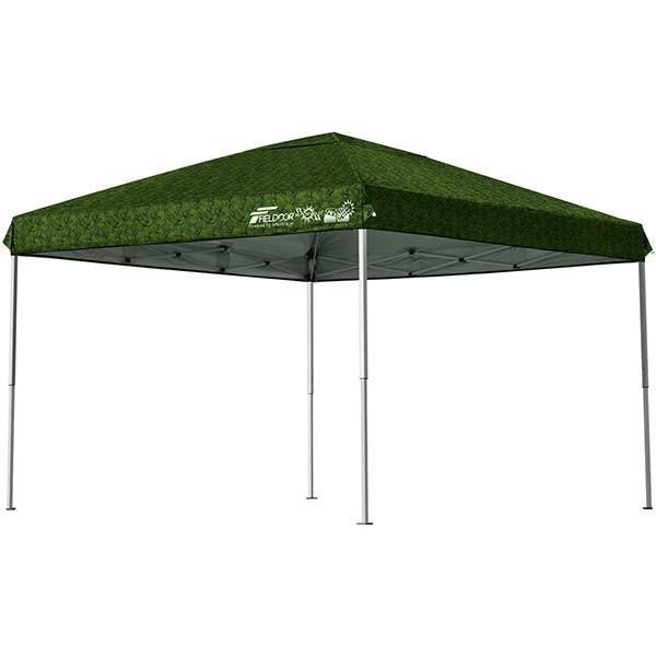 テント タープ タープテント 3m ワンタッチ 日よけ イベント アウトドア バーベキュー キャンプ 海 UVカット 防水 スチール おしゃれ 大型 FIELDOOR 送料無料|l-design|15