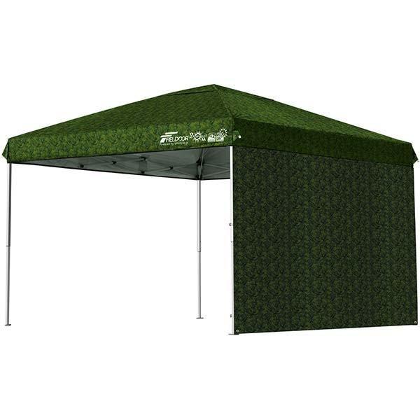 テント タープ タープテント 3m ワンタッチ ワンタッチテント ワンタッチタープ 日よけ イベント アウトドア サイドシートセット FIELDOOR 送料無料|l-design|15