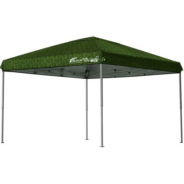 テント タープ タープテント 3m ワンタッチ ワンタッチテント ワンタッチタープ 軽量 アルミ 日よけ イベント アウトドア バーベキュー FIELDOOR 送料無料|l-design|14