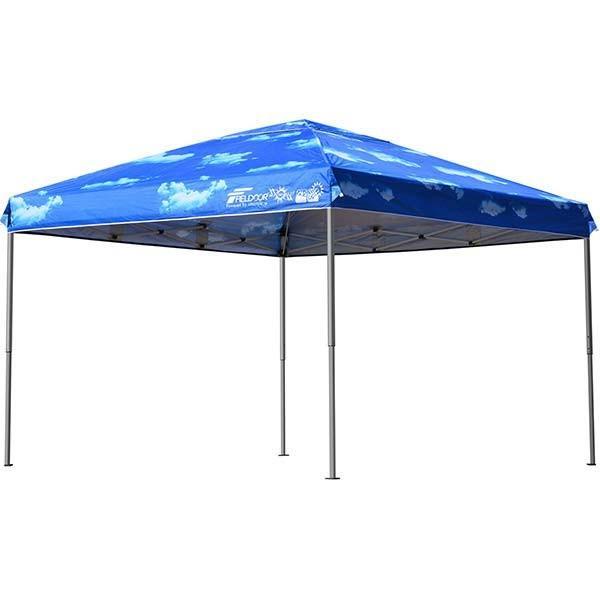 テント タープ タープテント 3m ワンタッチ ワンタッチテント ワンタッチタープ 軽量 アルミ 日よけ イベント アウトドア バーベキュー FIELDOOR 送料無料|l-design|19