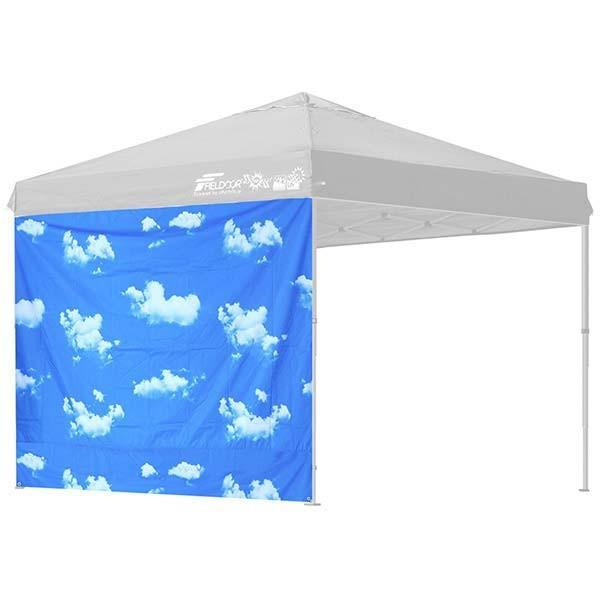 タープ テント タープテント用 サイドシート ウォールタイプ 横幕 2.5m 250 日よけ シェード オプション タープテント専用サイドシート FIELDOOR 送料無料|l-design|20