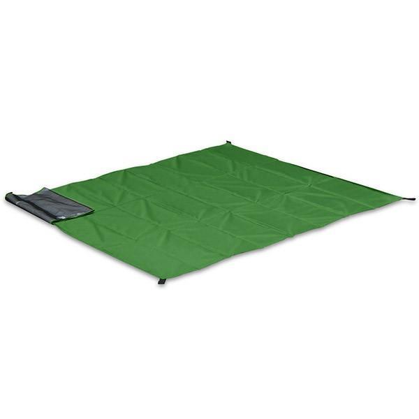 グランドシート テントシート レジャーシート 折畳みクッショングランドシート 170cm ピクニック キャンプ テント ピクニックシート FIELDOOR 送料無料 l-design 08