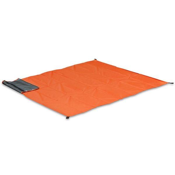 グランドシート テントシート レジャーシート 折畳みクッショングランドシート 170cm ピクニック キャンプ テント ピクニックシート FIELDOOR 送料無料 l-design 09