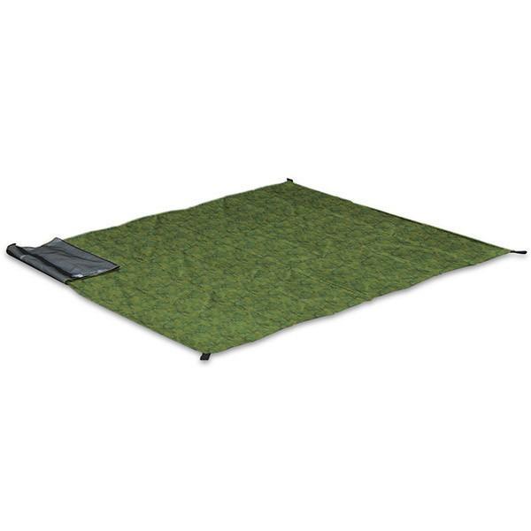 グランドシート テントシート レジャーシート 折畳みクッショングランドシート 170cm ピクニック キャンプ テント ピクニックシート FIELDOOR 送料無料 l-design 12