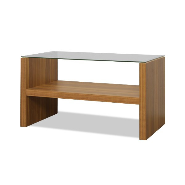 テーブル センターテーブル ローテーブル リビングテーブル コーヒーテーブル ガラステーブル 木製 幅75cm x 奥行40cm x 高さ40cm おしゃれ 強化ガラス l-design 09