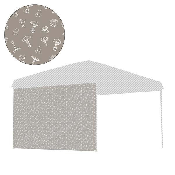 タープ テント タープテント用 サイドシート ウォールタイプ 横幕 3m 300 日よけ シェード オプション 仕切り 3.0m FIELDOOR 送料無料|l-design|18