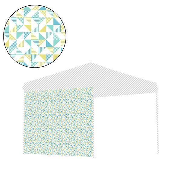 タープ テント タープテント用 サイドシート ウォールタイプ 横幕 2.5m 250 日よけ シェード オプション タープテント専用サイドシート FIELDOOR 送料無料|l-design|19
