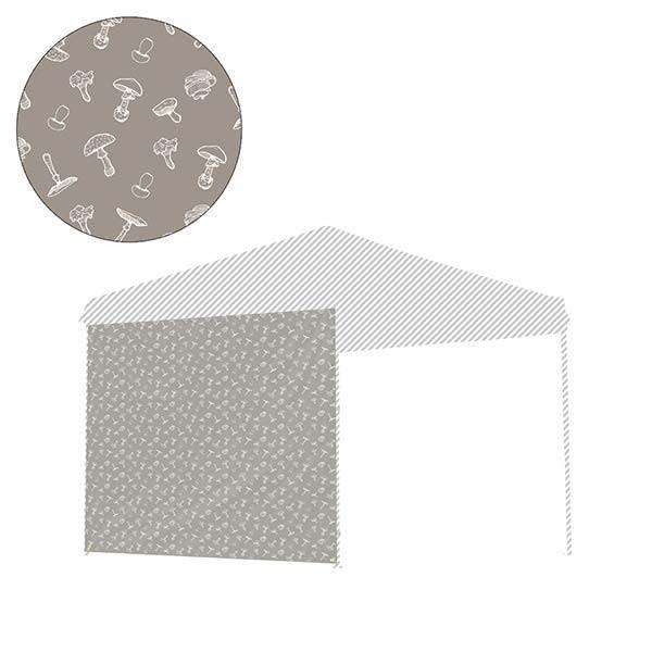 タープ テント タープテント用 サイドシート ウォールタイプ 横幕 2.5m 250 日よけ シェード オプション タープテント専用サイドシート FIELDOOR 送料無料|l-design|18
