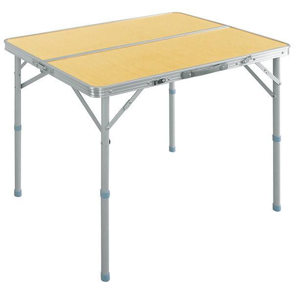レジャーテーブル 折りたたみ テーブル アウトドアテーブル 折り畳み 90X60X70cm アウトドア キャンプ FIELDOOR 運動会 送料無料|l-design|06