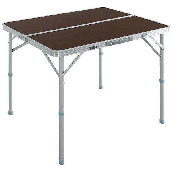 レジャーテーブル 折りたたみ テーブル アウトドアテーブル 折り畳み 90X60X70cm アウトドア キャンプ FIELDOOR 運動会 送料無料|l-design|07