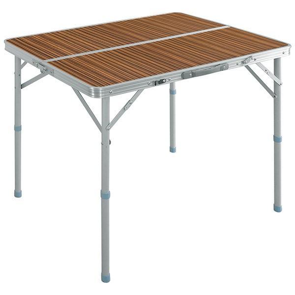 レジャーテーブル 折りたたみ テーブル アウトドアテーブル 折り畳み 90X60X70cm アウトドア キャンプ FIELDOOR 運動会 送料無料|l-design|09