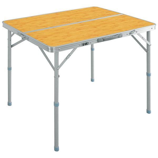 レジャーテーブル 折りたたみ テーブル アウトドアテーブル 折り畳み 90X60X70cm アウトドア キャンプ FIELDOOR 運動会 送料無料|l-design|08