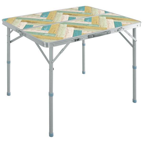 レジャーテーブル 折りたたみ テーブル アウトドアテーブル 折り畳み 90X60X70cm アウトドア キャンプ FIELDOOR 運動会 送料無料|l-design|10