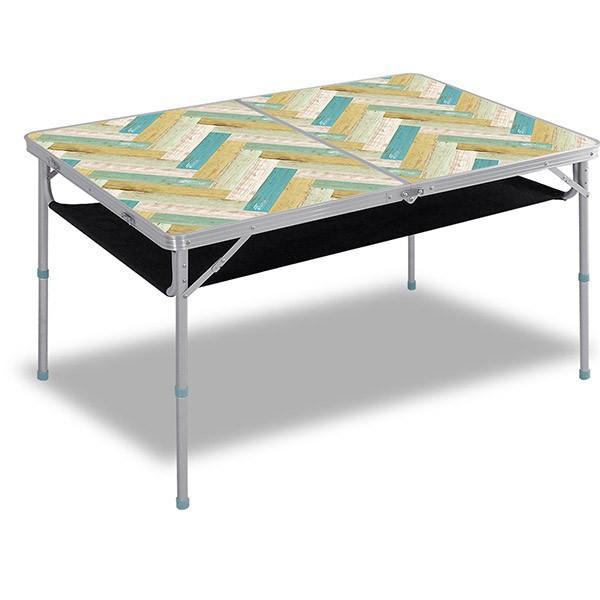 レジャーテーブル 折りたたみ 軽量 高さ調節 120X80X70cm FIELDOOR アウトドア キャンプ アルミ 折り畳み 運動会 送料無料|l-design|10
