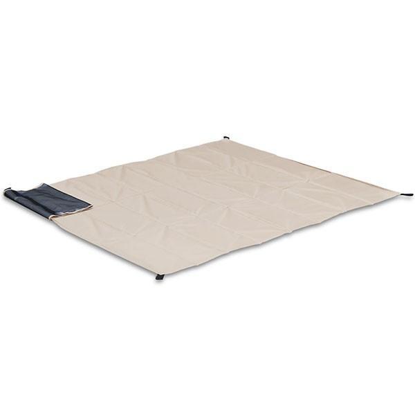 グランドシート テントシート レジャーシート 折畳みクッショングランドシート 170cm ピクニック キャンプ テント ピクニックシート FIELDOOR 送料無料 l-design 06