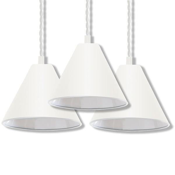 ペンダントライト 照明 1灯 3個セット おしゃれ LED 電球 北欧 天井 リビング 吊り下げ ダクトレール レールライト カフェ 食卓 シンプル 口金 E26 送料無料|l-design|06