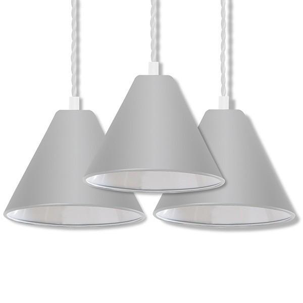 ペンダントライト 照明 1灯 3個セット おしゃれ LED 電球 北欧 天井 リビング 吊り下げ ダクトレール レールライト カフェ 食卓 シンプル 口金 E26 送料無料|l-design|07