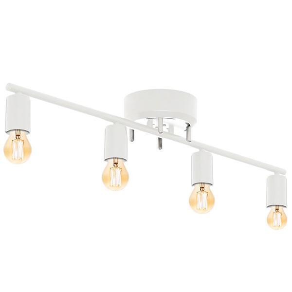 シーリングライト 照明 器具 4灯 ヴィンテージ風 LED エジソンライト セット おしゃれ シェードなし led対応 天井照明 直付け 寝室 リビング 洋室 北欧 送料無料|l-design|10