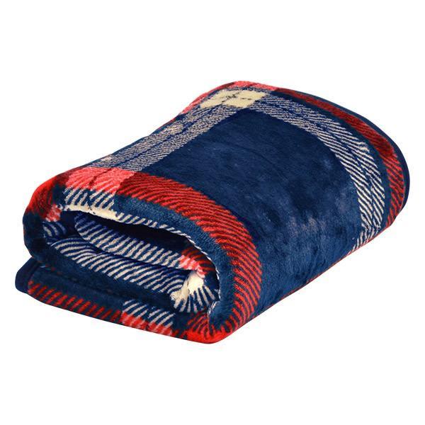 ひざ掛け 膝掛け ブランケット 2枚合わせ毛布 プラス2℃ ぬくぬくボリューム ヒートウォーム 静電気防止 洗濯可能 洗える リバーシブル マイクロファイバー毛布|l-design|10