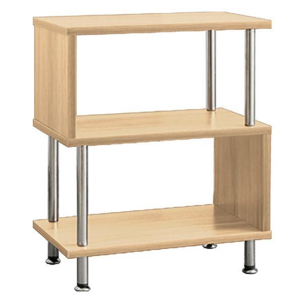 サイドテーブル サイドラック 収納棚 ラック s字 おしゃれ 木製 シェルフ ディスプレイラック オープンラック 幅40 3段 本棚 送料無料|l-design|08