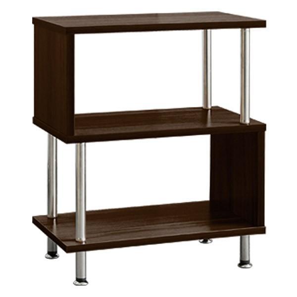 サイドテーブル サイドラック 収納棚 ラック s字 おしゃれ 木製 シェルフ ディスプレイラック オープンラック 幅40 3段 本棚 送料無料|l-design|07