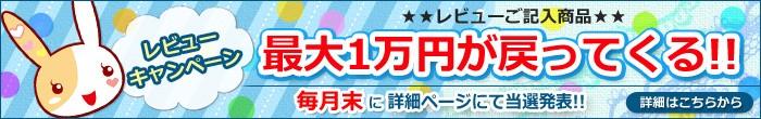 ご購入後の子供ドレスやワンピースにレビューを書くだけ!抽選で最大1万円戻ってくる!