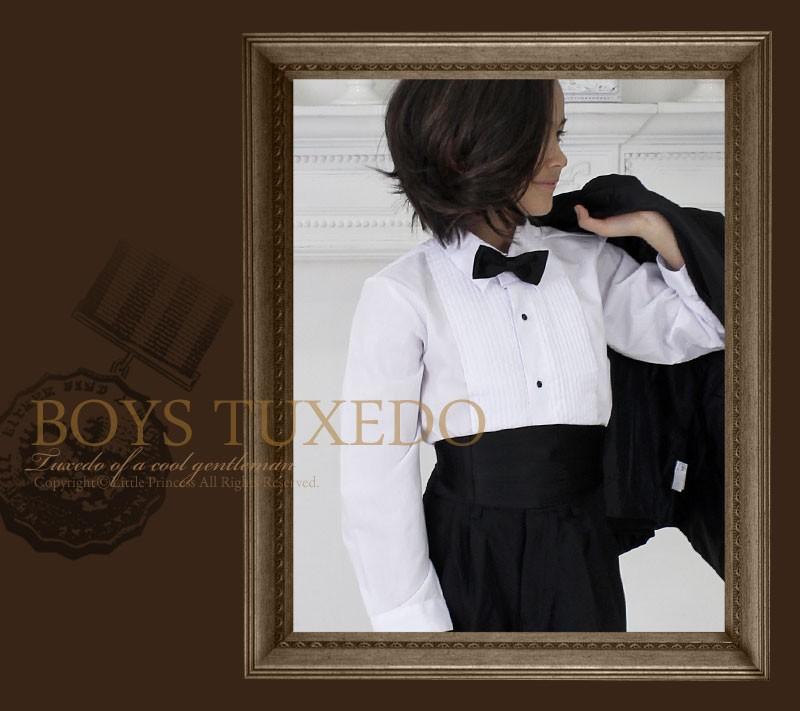 f3dbb86e81ec5 男児スーツ 子供服 子供タキシード(テールあり)10歳〜16歳(目安 ...