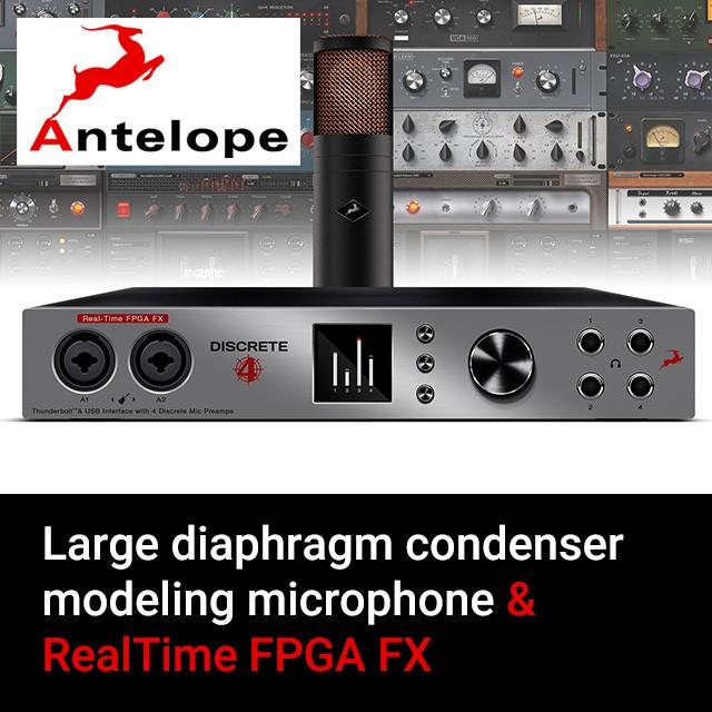 Antelope Discrete 4 + Edge