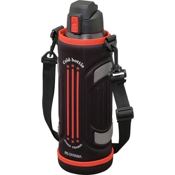 ステンレスケータイボトル ダイレクトボトル DB-1500 レッド ブルー アイリスオーヤマ|ladybird6353|08
