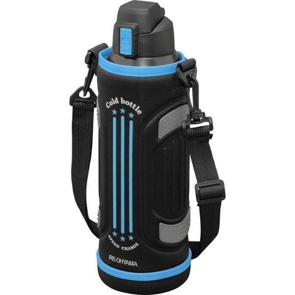 ステンレスケータイボトル ダイレクトボトル DB-1500 レッド ブルー アイリスオーヤマ|ladybird6353|09