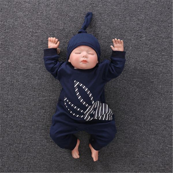 ロンパース 新生児 春 帽子つき おしゃれ 安い 12style オーバーオール ベビー 女の子 子供服 男の子 赤ちゃん 韓国 ベビー服 70 80 90 長袖 出産祝い|ladybirds-store|06