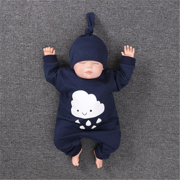 ロンパース 新生児 春 帽子つき おしゃれ 安い 12style オーバーオール ベビー 女の子 子供服 男の子 赤ちゃん 韓国 ベビー服 70 80 90 長袖 出産祝い|ladybirds-store|11