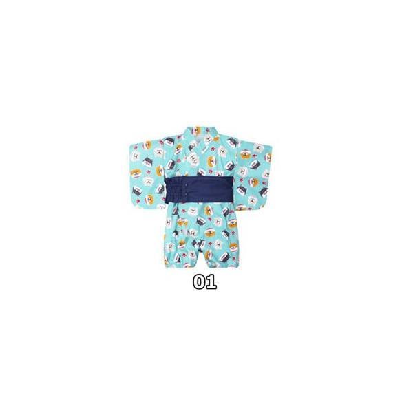 浴衣 キッズ 2点セット 子供服 カジュアル ゆかた 女の子 花柄 リボン 和 レトロ キッズ浴衣 夏 ベビー服 ロンパース 80 女 70/90cm|ladybirds-store|16