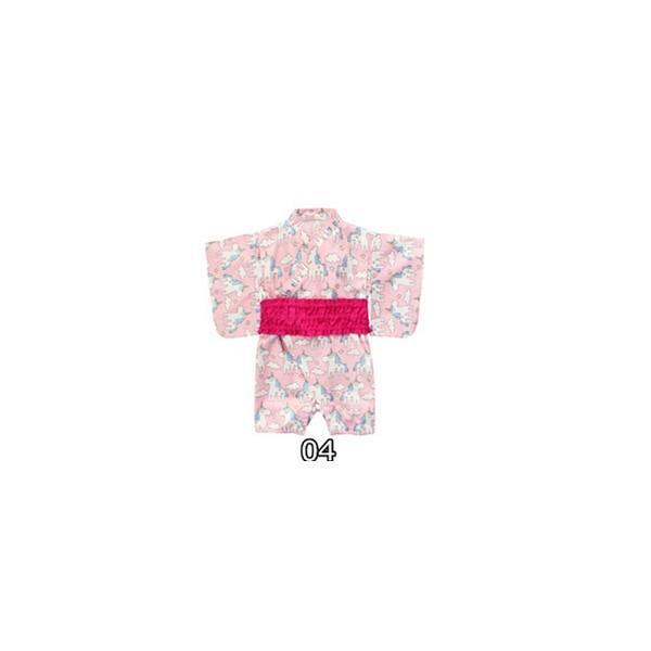 浴衣 キッズ 2点セット 子供服 カジュアル ゆかた 女の子 花柄 リボン 和 レトロ キッズ浴衣 夏 ベビー服 ロンパース 80 女 70/90cm|ladybirds-store|19