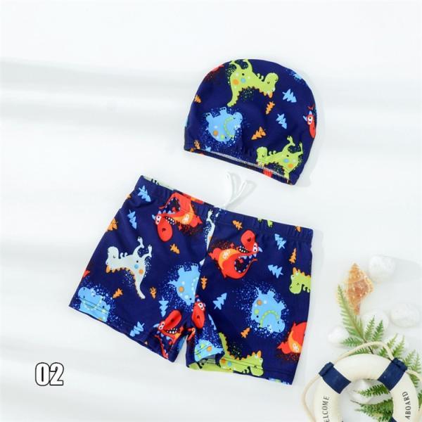キッズ 水着 男の子 セット 子供 ジュニア 小学生 ショートパンツ スイムキャップ サーフパンツ キッズ 海パン 男児 プール 海 水遊び スイミング かっこいい|ladybirds-store|10