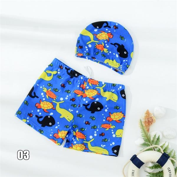 キッズ 水着 男の子 セット 子供 ジュニア 小学生 ショートパンツ スイムキャップ サーフパンツ キッズ 海パン 男児 プール 海 水遊び スイミング かっこいい|ladybirds-store|11