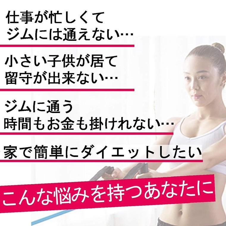 トレーニングチューブ 筋肉