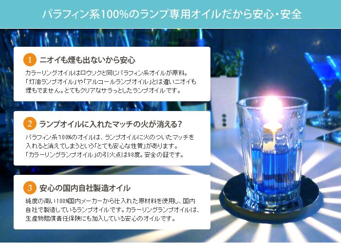 キャンライトのランプオイルの特徴とメリット