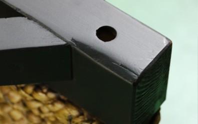 木製ダイニングテーブル 円卓 オーバル アジアン