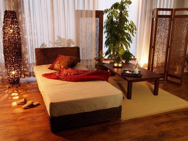 お部屋をエスニックな癒しのリラックスアジアンオリエンタルでナチュラルな空間に