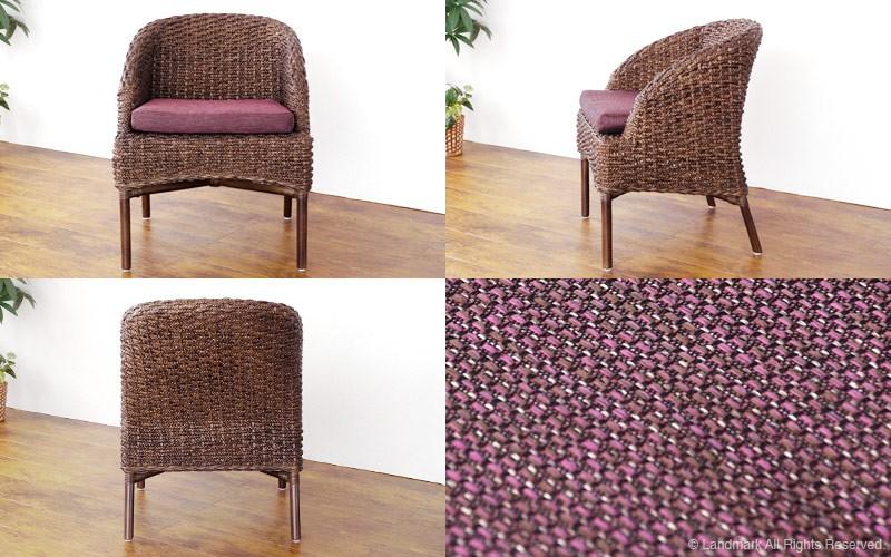アジアン家具アクビィバリ島のリゾートな癒しの空間をつくるウォーターヒヤシンスの椅子です。
