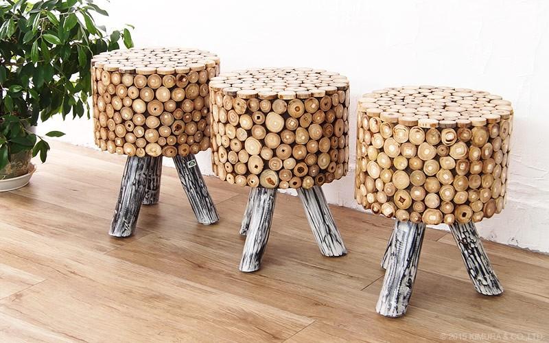 使うほど味わい深く、ヴィンテージでアンティークな趣に変化する経年変化をお楽しみ頂ける木製のナチュラルインテリアです。
